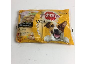 Pedigree, Hundmat, Strl: 4x100g, Vital Protection, Gul