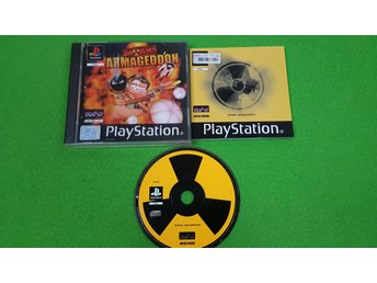 Worms Armageddon KOMPLETT Playstation ps1 psx
