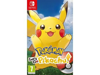 Pokémon - Let's go Pikachu (Switch)