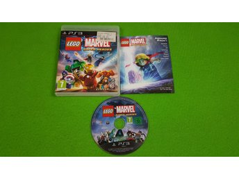Lego Marvel Super Heroes KOMPLETT Ps3 Playstation 3