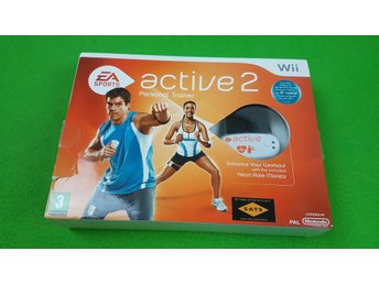 Active Personal Trainer 2 NYTT MED Monitor i box Nintendo Wii