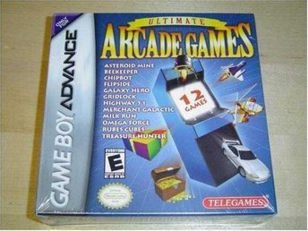 ULTIMATE ARCADE GAMES NINTENDO GAMEBOY ADVANCE *NYTT*