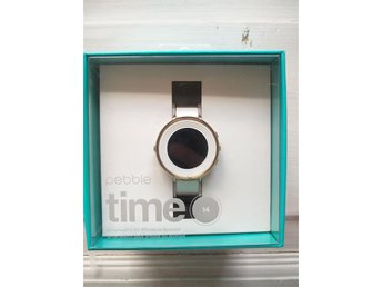 Pebble Time Round Smartwatch Rose/Gold