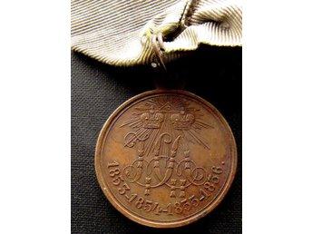 MEDAIL FÖR KRIM KRIG 1853-1856 tsar Ryssland. *Köp nu=Fri REK BREV !! - Szczecin - MEDAIL FÖR KRIM KRIG 1853-1856 tsar Ryssland. *Köp nu=Fri REK BREV !! - Szczecin