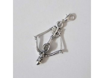 Pil och båge armband charm / Bow and arrow bracelet charm