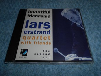 Lars Erstrand Quartet - Beautiful Friendship (CD) EX/EX - Göteborg - Lars Erstrand Quartet - Beautiful Friendship (CD) EX/EX - Göteborg