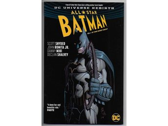 All Star Batman: Volume 1 - My Own Worst Enemy TP NM Ny Import
