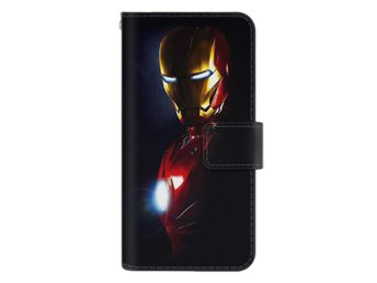 Samsung Galaxy S6 Edge Plånboksfodral Glowing Iron Man