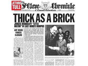 Jethro Tull: Thick as a brick (Vinyl LP)