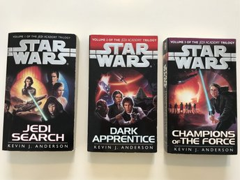 Star Wars Jedi academy Trilogy by Kevin J Anderson