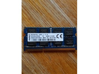Ram minne, laptop, 1600Mhz, DDR3, 8gb