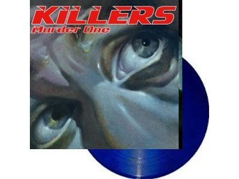 Paul Dianno's Killers -Murder one LP blue vi ex- Iron Maiden