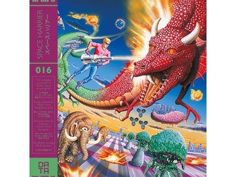 SPACE HARRIER SOUNDTRACK, LIMITED EDITION (Nytt) på Vinyl LP, Sega Arkad