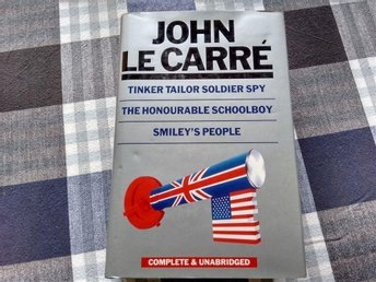 Tinker tailor soldier spy,Honorable schoolboy,Smileys people John Le Carré, 781s