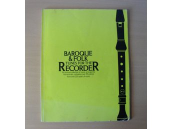 BAROQUE & FOLK TUNES FOR THE RECORDER ISBN 0 86001 275 1