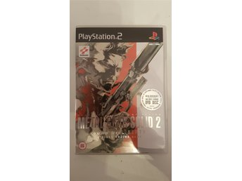 Metal Gear Solid 2 Sons of Liberty Playstation 2 PS2