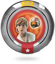 LUKE REBEL ALLIANCE FLIGHT SUIT Power Disc Star Wars - Disney Infinity 3.0