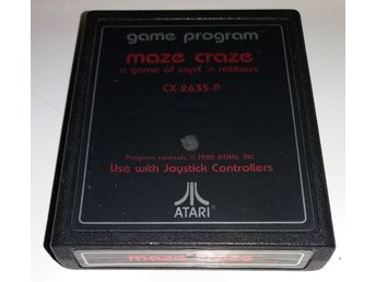 Maze Craze: A Game of Cops 'n Robbers - Atari 2600