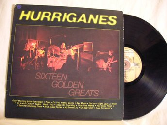 Hurriganes    -   Sixteen golden greats               Lp