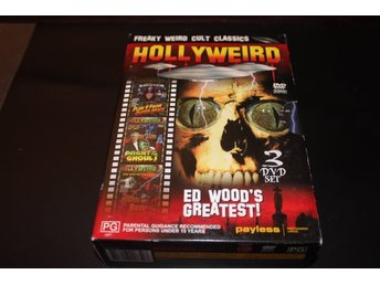 DVD-box: Hollyweird - 3 filmer