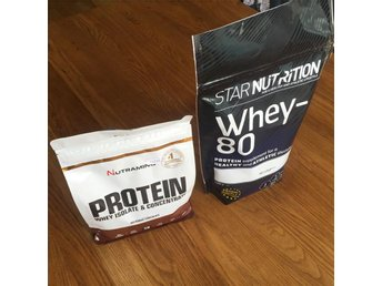 Star Nutrition Creatine Monohydrate, Beta-alanin och WHEY