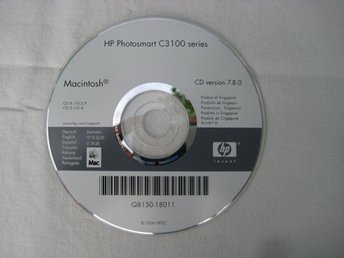 CD HP Photosmart C3 100 series