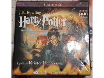 Harry Potter & Den Flammande Bägaren Ljudbok 22CD (komplett)