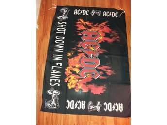 AC/ DC Posterflagga Shot Down In Flames