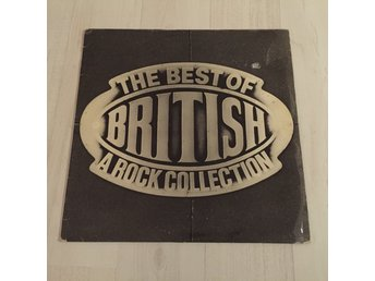 THE BEST OF BRITISH, A ROCK COLLECTION, SAVAGE, WARFARE, DIANNO  (NM LP)