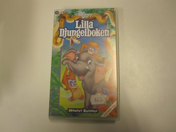 Lilla djungelboken - Monkey business  -  VHS
