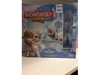 BRÄDSPEL .Monopoly Junior Frozen