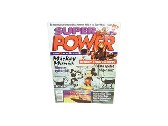 "Super Power Nr 8 1994 ""Mickey Mania"""