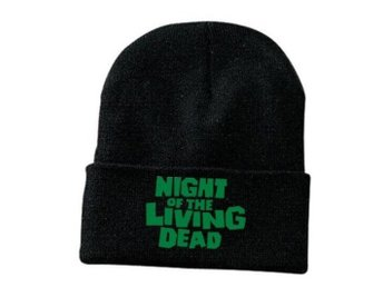 Night of the living dead beanie mössa oanvänd skräck horror george romero zombie