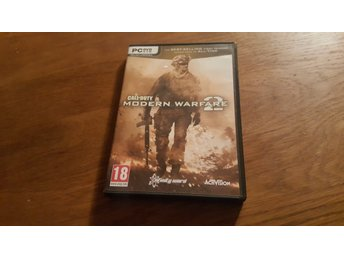 CALL OF DUTY MODERN WARFARE 2 PC NYTT