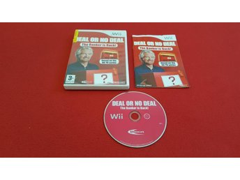 DEAL OR NO DEAL THE BANKER IS BACK till Nintendo Wii