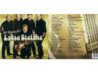 lasse stefanz 40 ljuva år Lasse Stefanz, 40 ljuva år (2CD) (316521738) ᐈ Köp på Tradera lasse stefanz 40 ljuva år