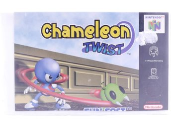 Chameleon Twist (Rental Case) - N64 - PAL (EU)