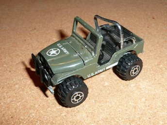 Modellbil Jeep US Army