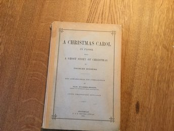 a christmas carol in prose, being a ghost story of christmas by dickens, 1884.