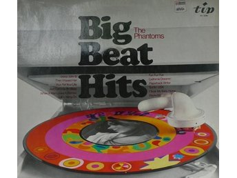 Big beat hits LP-skiva