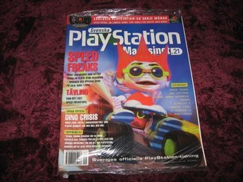PLAYSTATION MAG Nr9 NY MED CD 9/1999 SPEED FREAKS RETRO