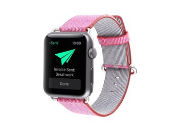 Nylon Band Apple Watch 42mm rosa