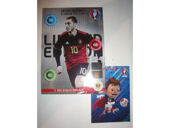 Panini Adrenalyn XL EURO 2016 Limited Edition XXL - EDEN HAZARD - Belgien