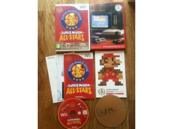 Super Mario All Stars + Bonus disc