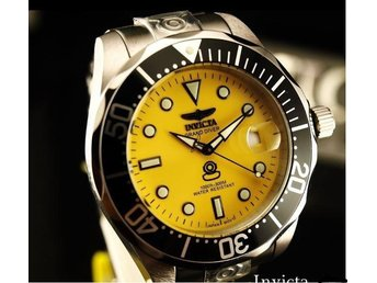 Submariner Klocka  Dykarur 300m Automatisk 24jewels Invicta Grand  Diver