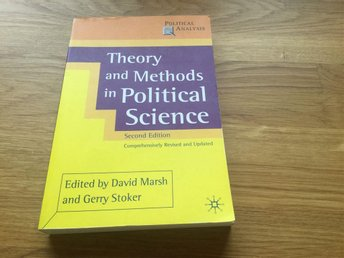 Bok, theory and methods in political science, marsh/stoker