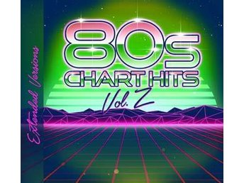 80s Chart Hits Vol 2 - Extended Versions (2CD)