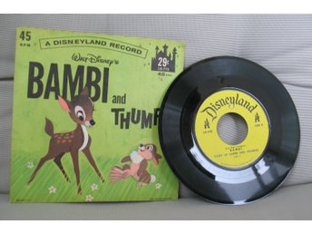 "Walt Disney's ""Story of Bambi and Thumper"", från 60-talet"