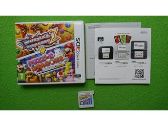 Puzzle & Dragons Z + Puzzle Dragons Super Mario Bros.Edition Nintendo 3DS
