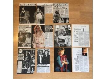 ABBA helsidor ur Svensk Damtidning, Hänt i Veckan & VeckoRevyn från 80-talet - Lidingö - ABBA helsidor ur Svensk Damtidning, Hänt i Veckan & VeckoRevyn från 80-talet - Lidingö